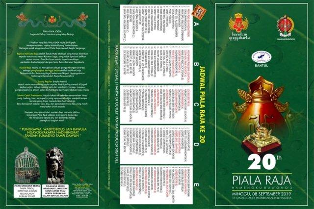 Brosur Piala Raja 2019